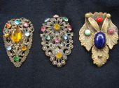 DELIGHTFUL DRESS CLIPS - ART DECO DRESS CLIPS  1920s, 1930s,1940s and 1950s
